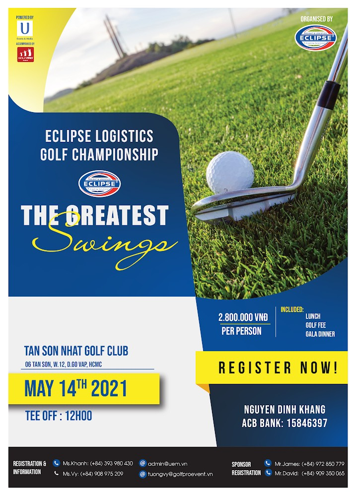 ECLIPSE LOGISTICS GOLF CHAMPIONSHIP 2021 THE GREATEST SWINGS